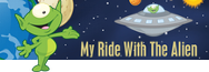 My Ride With The Alien Children's Book by Cary Snowden