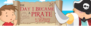The Day I Became A Pirate Children's Book by Cary Snowden