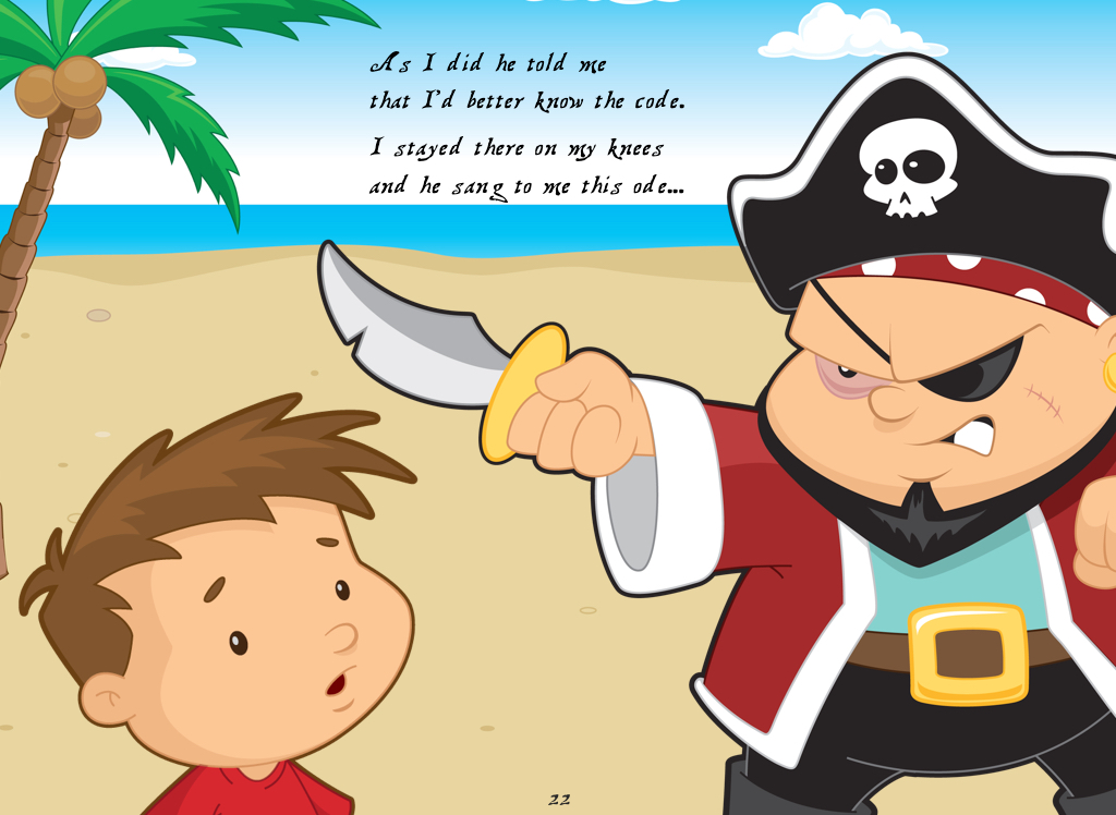 Learn the pirate code.