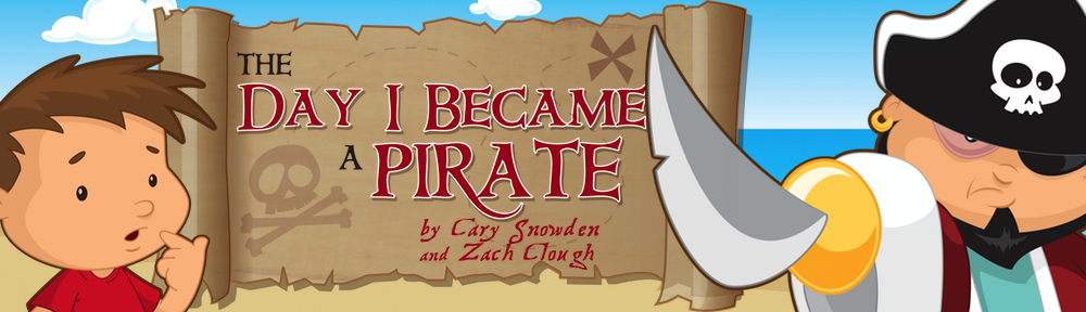 The Day I Became A Pirate Book App For Children and Young Readers