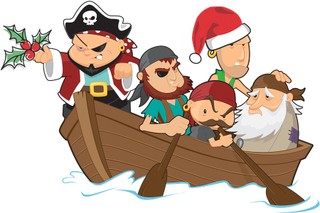 Merry Christmas and a Happy New Year from The Day I Became A Pirate